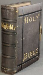 Holy Bible Containing The Old And New Testaments / 1874 Americana