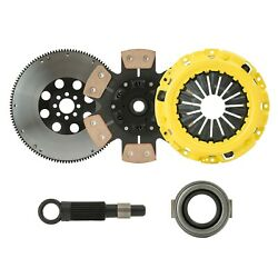 Cxp Stage 4 Sprung Clutch+flywheel Kit 90-91 Acura Integra B17 B18 S1 Y1 Cable