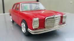 Vintage Mercedes Benz Japan Taiyo 1960's Tin Toy Battery Operated For Parts