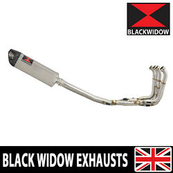 Bmw S1000r 2014-16 Performance De Cat Exhaust System Tri-oval Silencer Sc35t