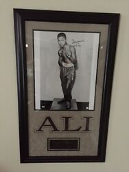 Muhammad AliCassius Clay CertifiedAuthenicated Autograph at Age 12 - GOAT