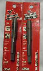 Vermont American 20076 And 20077 Plug Taps Made In The U.s.a. Machinist Tools
