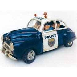 New The Comic Art Of Guillermo Forchino Police Figurine Statue Highway Patrol