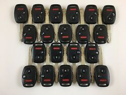 LOT OF 20 HONDA PILOT 05-08 HEAD KEY LESS ENTRY REMOTE OEM 3-BUTTON FOB CAR USA