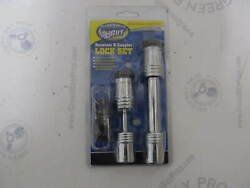 7-1865 Marine Boat Trailer Receiver And Coupler Lock Set