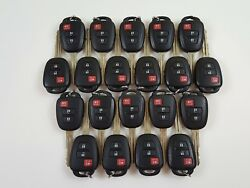 LOT OF 20 TOYOTA RAV4 LE 13-18 KEY LESS ENTRY REMOTE OEM FOB USA FOB H-CHIP 8A