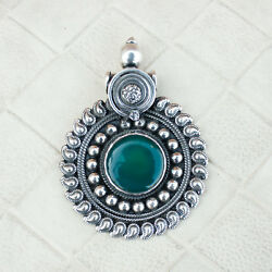 Onyx Pendant Traditional Gorgeous Boho Ethnic Tribal Unique Women Gifts Jewelry