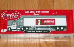 Athearn 8222 Coca Cola Train Collection Series Kenworth With 45' Trailer 3