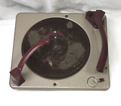 Vintage Sears Silvertone 3 Speed Record Changer From 6240 Player