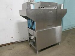 Hobart C44a H.d. Commercial 3phase Electric High Temp Conveyor Dishwasher