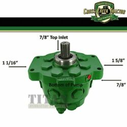 Ar94660 Compatible With John Deere Hydraulic Pump 2510 3010 4010 5010 2520