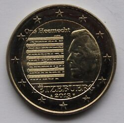 Luxembourg - 2 € Commemorative Euro Coin 2013 - National Anthem - Our Homeland