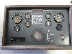 1988 Charger 1910 Cruiser 4.3l Dash Panel With Gauges And Switches
