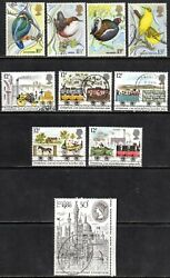 1980 Commemorative Year Set of 9 Issues (1110 T2) & 1 Miniature Sheet Fine Used
