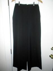 Barbour Land Rover Collection Black Wide Leg Pants Nwt Uk 10 Usa 6 215