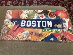 NEW quot;BOSTON IN A BOXquot; Boston Opoly Monopoly Game SEALED KC