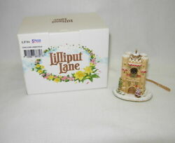 Lilliput Lane Time For Christmas Hanging Ornament L3731 New In Box