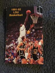 Shaquille Oand039neal Shaq Lsu Basketball Schedule 1 Of A Kind 1991 Lsu Tigers