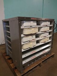 H And K Commercial 12 Compartments Heating/holding Pass Through Food Warmer
