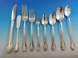 Remembrance By 1847 Rogers Silverplate Flatware Set For 12 Service 134 Pieces