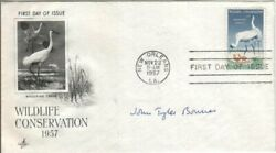 John T. Bonner Autographed First Day Cover Ecology Professor / Princeton
