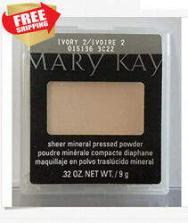 Mary kay Sheer mineral pressed powder IVORY 2