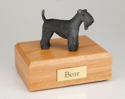 Kerry Blue Terrier Pet Cremation Urn Available in 3 Different Colors