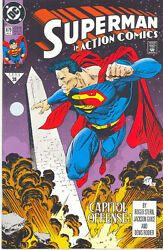 Superman In Action Comics - 679-690. 13 Issues- 1992/3- Reign Of The Supermen