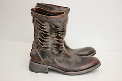 John Varvatos Collection 'simmons Pavement Twisted' Zip Boots - 8.5 1600