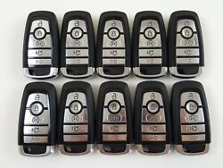 LOT OF 10 FORD EDGE 17-18 REMOTE SMART KEY LESS ENTRY 5-BUTTON ALARM OEM SEDAN