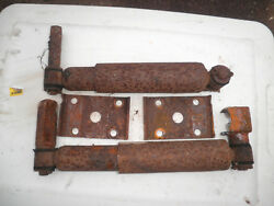 Willys Overland Jeep Truck Front Shocks And Mounting Brackets 1952