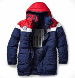 2018 Team Usa Polo Olympic Heated Jacket Opening Ceremony Large L