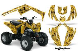 Atv Decal Graphic Kit Wrap For Can-am Ds250 Ds 250 Bombardier 2006-2016 Bfly K Y