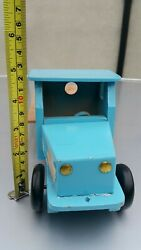 Vintage Truck Toy Flat Bed Vehicle Wooden Retro Ussr Soviet Russia Cccp Era