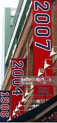 2007 Red Sox World Series Championship Banner