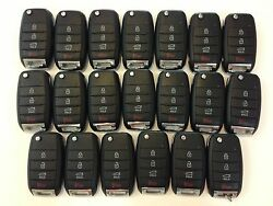 LOT OF 20 KIA RIO 14-17 OEM HIGH SECURITY REMOTE FLIP KEY LESS ENTRY 315MHz FOB