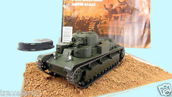 Eaglemoss 1:72 T-28 multi-turreted tank diecast model +mag№15 Russian  tanks