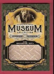 Roaring 20's Men's Opera Scarf Relic Card 15 Goodwin Champions Museum Collection