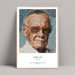 Stan Lee Poster, Stan Lee Quote, Avengers, Iron Man, Spider Man, End Game, Thor