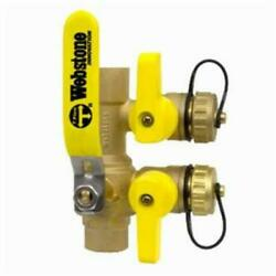 Webstone 58613 3/4 Sweat Purge And Fill Ball Valve