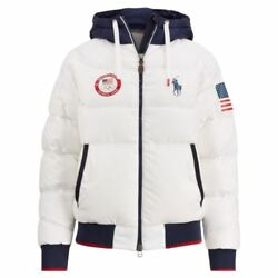 2018 Team Usa Polo Olympic Heated Jacket Closing Ceremony Large - L