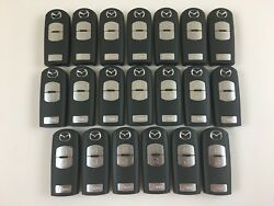LOT OF 20 MAZDA 3 CX5 SPEED3 SMART 12-18 KEY LESS ENTRY REMOTE ORIGINAL OEM FOB