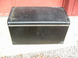 Antique Classic Car Leather Wrapped Auxillary Trunk For Luggage Rack,packard,pa