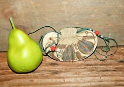 Antique Chinese Embroidery Scent Purse Embroidered Sack Bag Satchel Textile #5