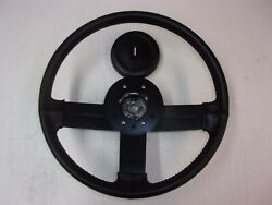 Leather Wrapped Steering Wheel And Horn Pad 82-89 Camaro Iroc-z / Z28 Or2145.51