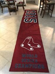 1915 Red Sox Workd Series Champions Banner