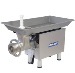 New Meat Grinder Machine 1 Hp 110v Stainless Steel Pro-cut Kg-22-w-ss 9895 Nsf