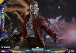 Hot Toys Mms421 Star-lord Deluxe 1/6 Scale Figureguardians Of Galaxy Vol 2nisb