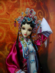 Traditional Opera Barbie Kurhn Dolls Ancient Chinese Costumes Outfits 12 Gift