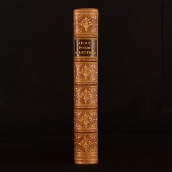 1867 Thomas Gray Poems Letters Rivere Elegy Written In A Country Churchyard
